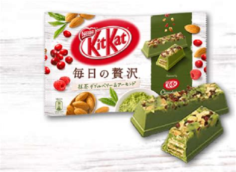 Kitkat Green Tea 4f new kitkats combine matcha green tea almonds and two