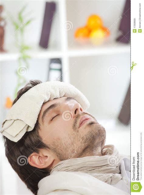 Sick Bed by Sick In Bed Royalty Free Stock Images Image 17058909