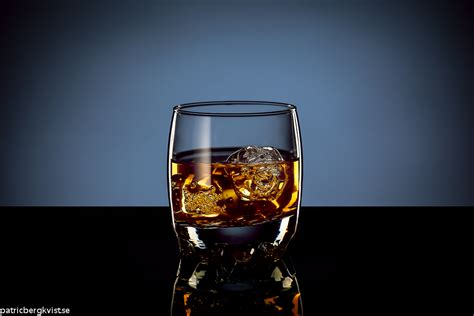 whiskey photography shooting glass of whiskey with product