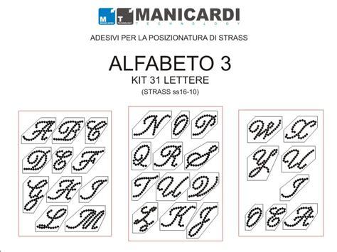 lettere alfabeto adesive strass ss16 lt aquamarine