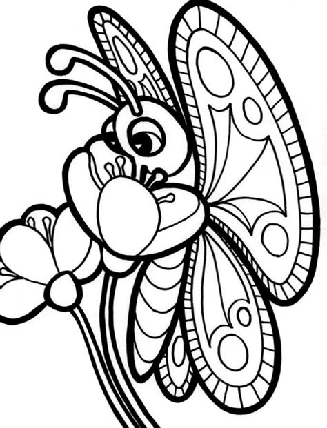 coloring pages of butterflies and flowers coloring pages of flowers and butterflies coloring home