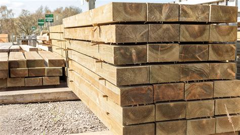 Timber Sleeper Prices by Softwood Sleepers Earnshaws Fencing Centres