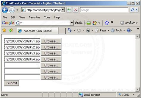 tutorial php with mysql php multiple file field upload to mysql
