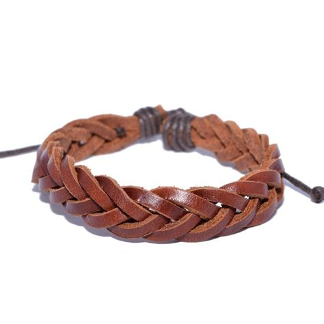 make leather jewelry 5 ways to make leather bracelets wikihow