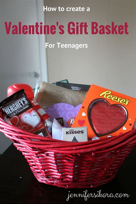 valentines gifts for teenagers how to create a s gift basket for teenagers