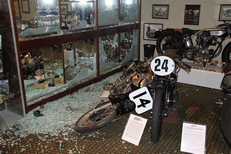 national motorcycle museum  birmingham broken  tt