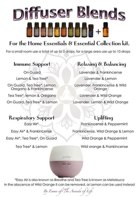 Diffuer Recipes For Detox by Image Result For Home Essentials Kit Diffuser Blends