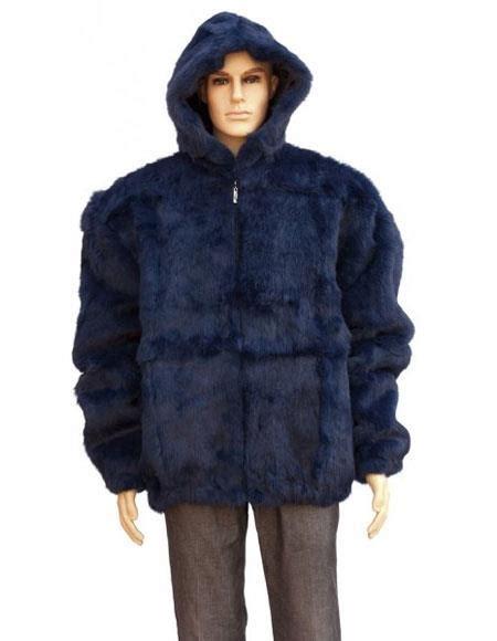 Pull Fur Navy Maroon Jacket Wanita sku gd877 s fur navy blue skin rabbit pull up zi