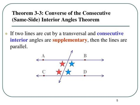 Supplementary Same Side Interior Angles by Ppt Proving Lines Parallel Powerpoint Presentation Id