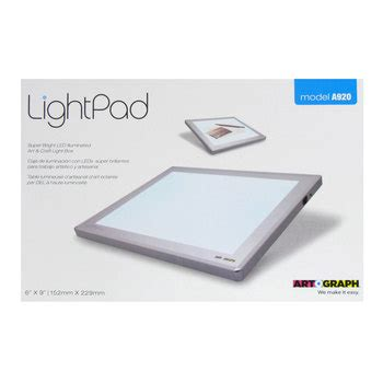 artograph light pad review 6 quot x 9 quot artograph light pad hobby lobby 716464