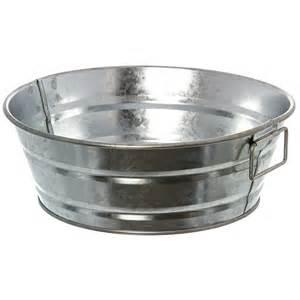american metalcraft mtub83 8 quot x 3 quot galvanized tub