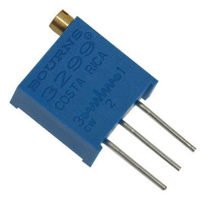 500k ohm resistor 3299w 1 504lf bourns resistor trimmer 500k ohm 10 1 2 watt 25 turn 2 29mm pin through
