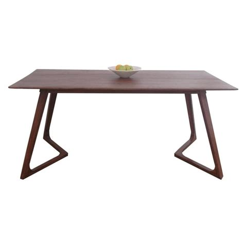 dining table styles libra dark wood retro style dining table from fusion