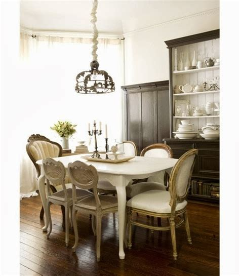 mixed dining room chairs shabby in love mixed dining chairs in dining rooms