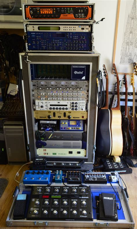 Recording With Eleven Rack by Equipment Location Recordings
