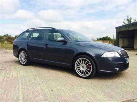 skoda octavia vrs estate limited edition 2009 09 car