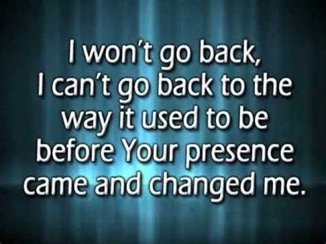 Brits Wont Back Up by I Won T Go Back W Reprise And Lyrics