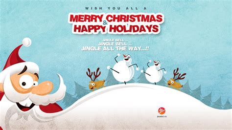 merry christmas happy holidays wallpapers hd wallpapers id