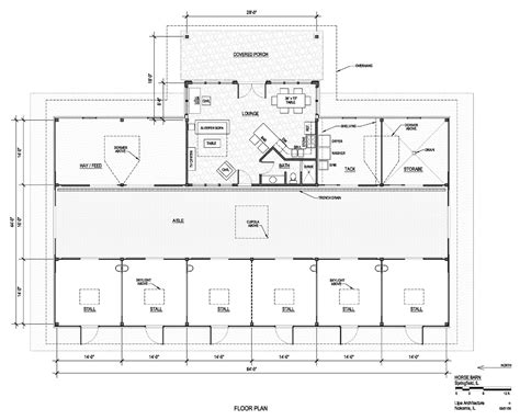 horse stable floor plans lipe architecture