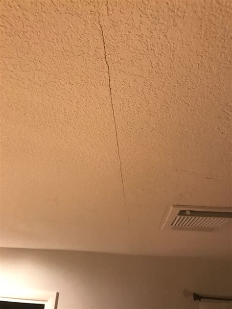 Drywall Cracks In Ceiling Causes by Drywall Ceiling With Railroaded Joint Drywall