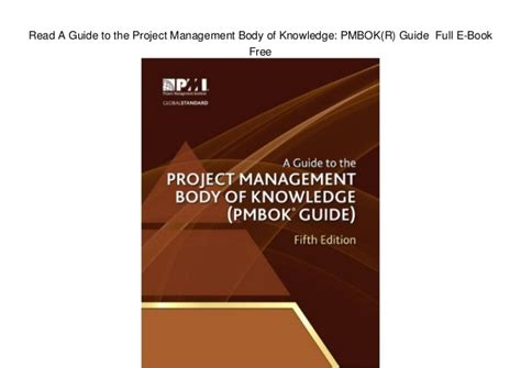 a guide to the project management of knowledge pmbok guide sixth edition edition books read a guide to the project management of knowledge