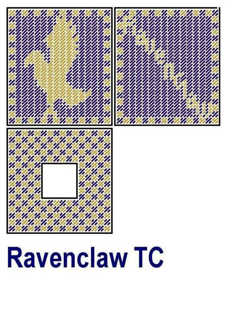 harry potter knitting charts 101 best harry potter plastic canvas images on