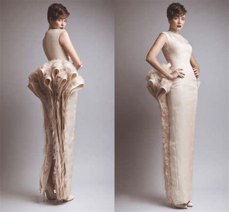 Formal Wedding Dresses Designs by Dress Designs Evening Dresses 2015 Back Slit Ruched