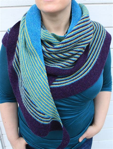 knitting pattern color affection 12 best images about june shawl knitalong colour