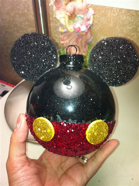 Mickey Mouse Decorations Diy by Diy Mickey Mouse Ornaments Mickey Mouse