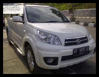 Terios Jumbo iklan bisnis samarinda dijual terios tx adventure 2012 warna putih posisi mobil samarinda