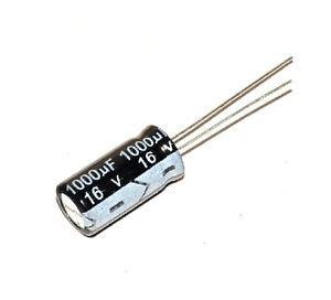 1000uf 16v capacitor maplin 12pcs 1000uf 16v 105c radial electrolytic capacitor ebay
