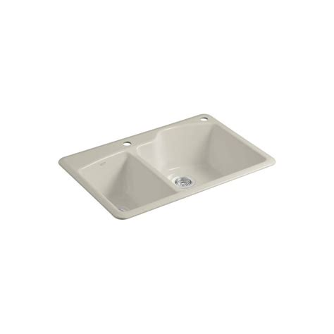 Kohler Wheatland Sink by Kohler Wheatland Drop In Cast Iron 33 In 2
