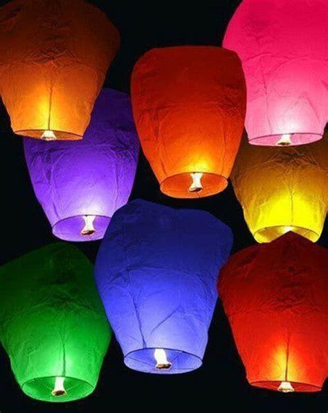 candele cinesi 1pcs ufo balloon sky lantern khoom fay flying