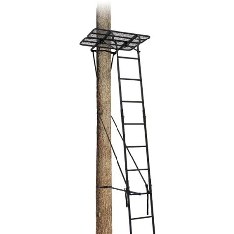 Inexpensive Stands Cheap Big Treestand 2010 4 Ladder Extensionbig