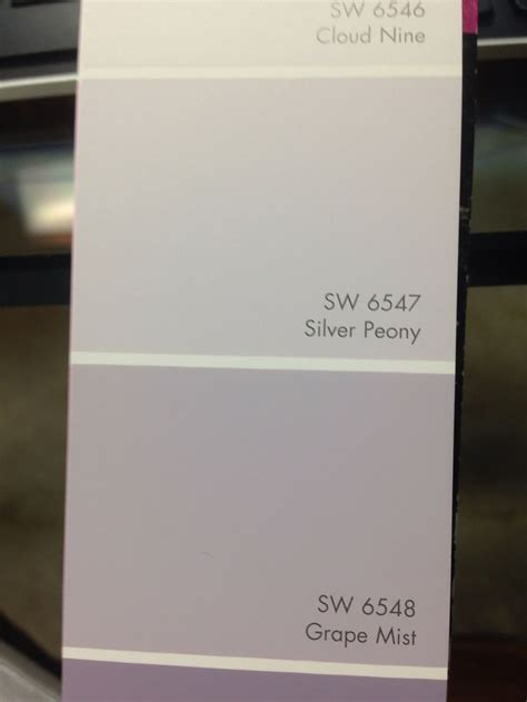 silver peony sherwin williams for the home