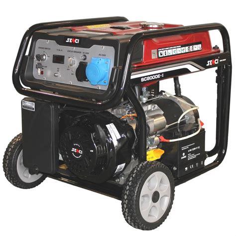 Cumpar Motor Electric 220v by Generator De Curent Senci Sc 8000e 7000w 230v Avr