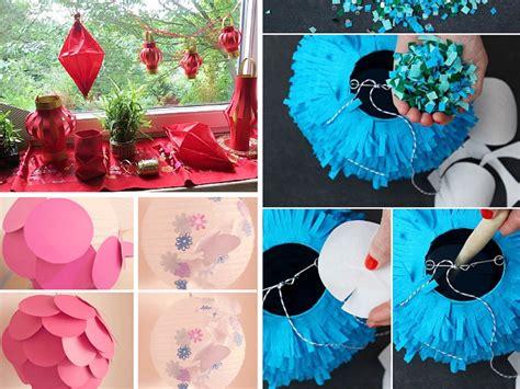 diy ways  create beautiful handmade paper lanterns