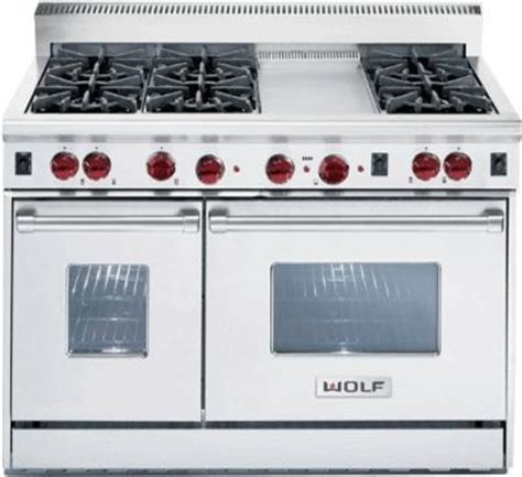 72 wolf 6 burner stove wolf 48 quot gas range 6 burners r486g gas ranges and electric ranges philadelphia by mrs g