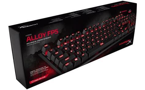 Hyperx Alloy Fps Gaming Keyboard Blue Switch Garansi 2 Tahun hyperx adds cherry mx and brown switch options to alloy fps mechanical gaming keyboard