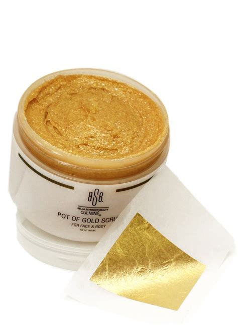 Scrub Gold bsb pot of gold scrub labelle day spas salons