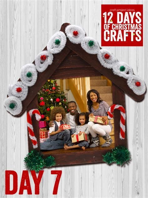 12 days of christmas crafts day 7 craft project ideas