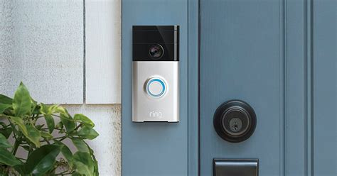 amazon com ring wi fi enabled video doorbell in satin nickel video doorbell company ring acquired by amazon digital