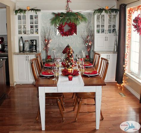 Pendant Light Dining Room creating a cozy country christmas dining room sober julie