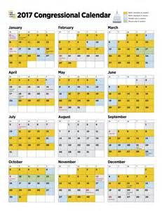 Congress Calendar United States Senate And House Of Representatives