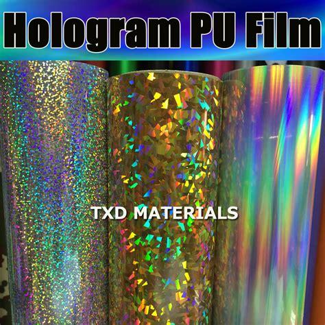 Kaos Cm 02 High Quality Lp hologram pu vinyl for cutter plotter 50cmx100cm high quality hologram pu vinyl for fabric heat