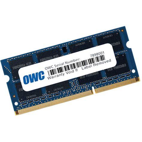 V Sodimm 8 Gb Ddr3 Pc10600 owc other world computing 8 gb 1x8 gb owc1333ddr3s8gb b h
