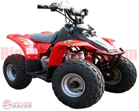 Hensim Hs70 70cc Chinese Atv Owners Manual Om Hs70