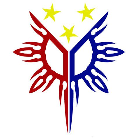 3 color philippines flag sun star pinoy pinay custom vinyl