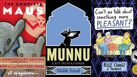 maus to home the best graphic novel memoirs every