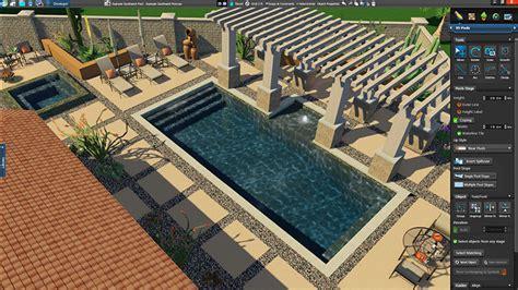 expert landscape design 3d download 3d pool and landscaping design software overview vip3d